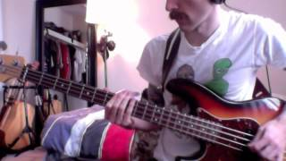 The Band - Up On Cripple Creek (from The Last Waltz) (bass cover)