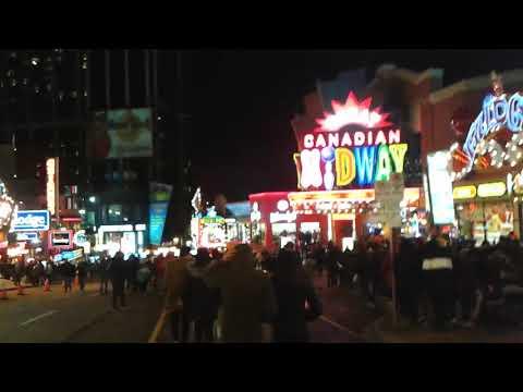 New Years Eve In Niagara Falls Ontario Canada 2020