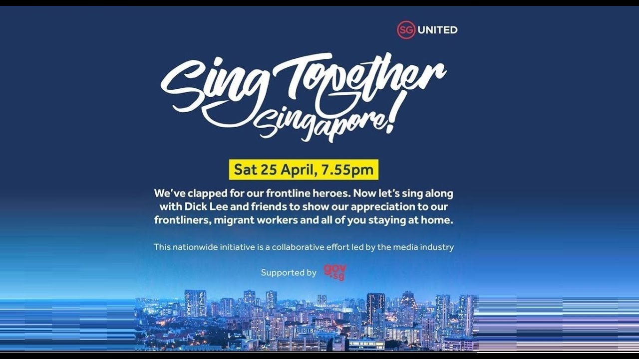 Living in a pandemic: Sing Together Singapore to thank healthcare, migrant workers