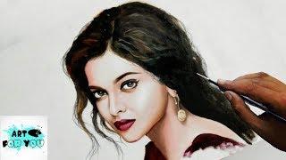 Drawing of Deepika Padukone | Deepika Realistic Painting | Deepika drawing sketch | oil painting