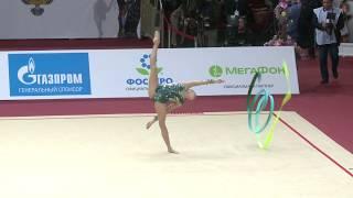 Анастасия Салос(Беларусь) - Лента Гран-при Москва 2019 Финалы.