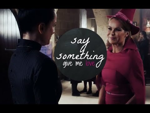 hecate & pippa || say something (give me love)