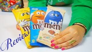 M&Ms Candy | M&M Chocolate Bar Review - 1st Look & Taste Test