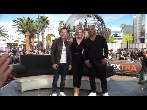 Mike Tyson, Donnie Yen & Charissa Thompson: Tyson calling me wild!
