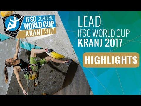 IFSC Climbing World Cup Kranj 2017 - Lead Semi-Finals Highlights