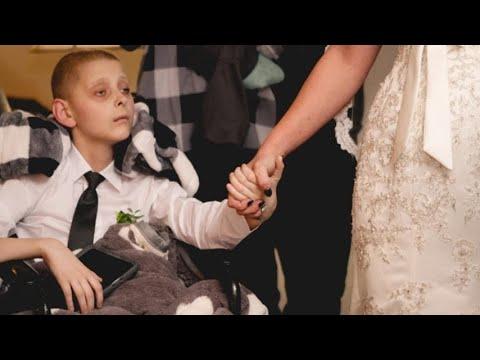 """""""Mamma, vorrei accompagnarti all'altare prima di morire"""": 12enne realizza il suo ultimo desiderio"""