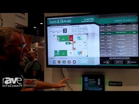 InfoComm 2014: Visix Demonstrates its New RoomBoard Application and Electronic Paper Signs