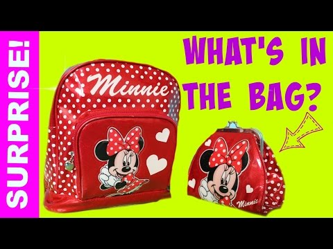 shopkins blind bags surprise backpack doc mcstuffins disney princess minnie