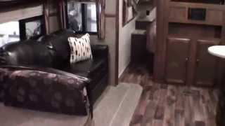 2015 Heritage Glen 312 Qbud Bunk House Travel Trailer