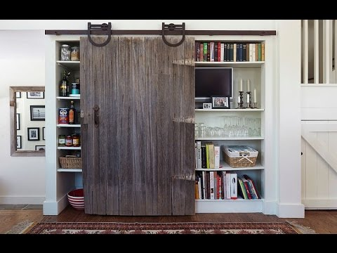 Barn Doors Pantry Ideas You