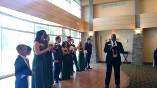 WEDDING PARTY INTRODUCTION AT WOODLANDS STERLING, VA