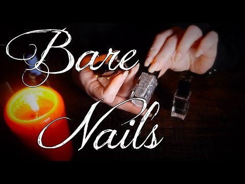 ASMR Nails Bare to Painted | Bottles, Tapping & Soft Speakin