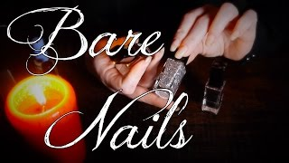 ASMR Nails Bare to Painted | Bottles, Tapping & Soft Speaking