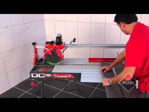 Wet Saw Tile Cutter - Cortador Eléctrico  RUBI DC 250 1200