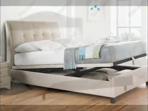 Upholstered Bed Frame - YouTube