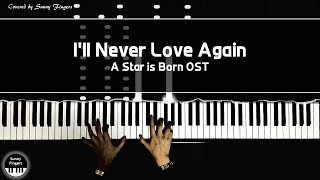 I'll Never Love Again - A Star is Born OST, Lady Gaga | piano covered by Sunny Fingers