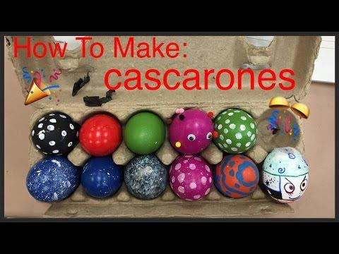 How To Make: Cascarones (Confetti Eggs)