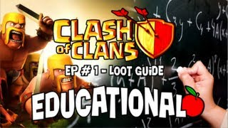Clash of Clans Educational Series #1 - Complete Loot Guide for Farming