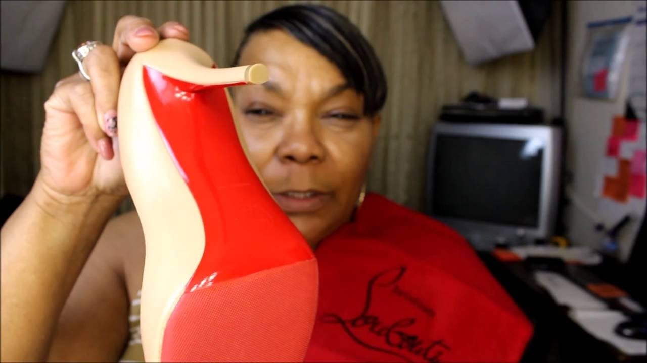 5ce2a463210 Christian Louboutin Authentic vs Replica - YouTube