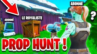 Can't find me in Prophunt with this glitch on Fortnite!