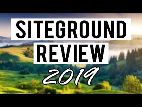 Siteground Review (2019) Pros and Cons of Siteground Web Hosting
