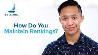 Maintaining Keyword Ranking in Google - SEO Your Site for Page One