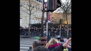 Motorcyclists Parade Through Paris in Memory of Rockstar Johnny Hallyday
