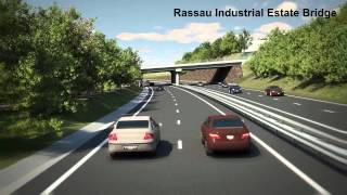 a465 section 3 dualling video fly through with voice over