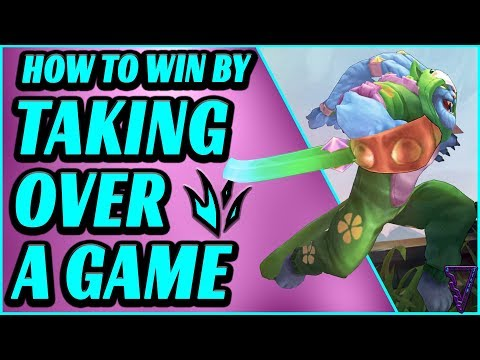 How To Take Over A Game Ft Rengar - Jungle Carry Guide - League Of Legends