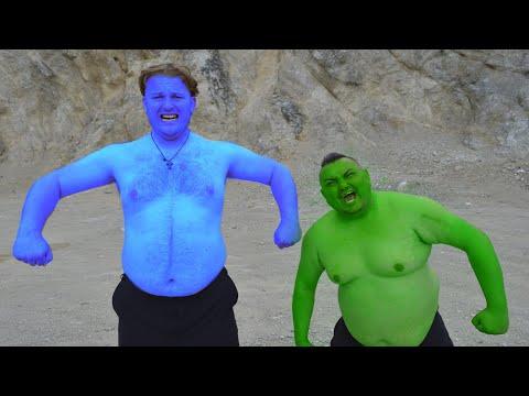 Hulk VS Blue Hulk