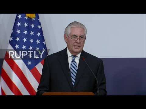 South Korea: Policy of 'strategic patience' with N. Korea is over, all options are on - Tillerson