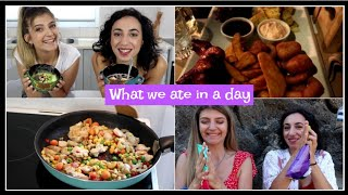Τι φάγαμε μέσα στη μέρα || fraoules22