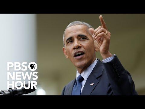 WATCH LIVE: Former President Barack Obama's first public speech since he left office