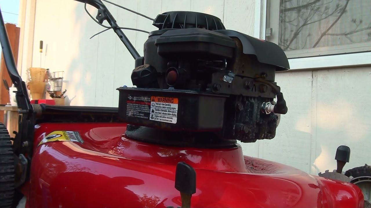 how to repair a briggs and stratton lawnmower fuel problem diaphragm lawn mower carburetor rebuild [ 1280 x 720 Pixel ]