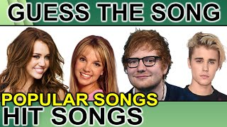 Guess The Song | Guess The Popular Song | Fun Quiz Questions | Music Quiz With Hints