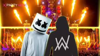 DJ Alan walker vs DJ Marshmello 🔥 Alone Vs Faded BreakBeat Remix 2017 PlanetLagu com