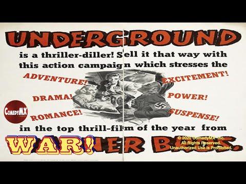 Underground (1941) | Full Movie | Jeffrey Lynn | Philip Dorn | Kaaren Verne | Vincent Sherman
