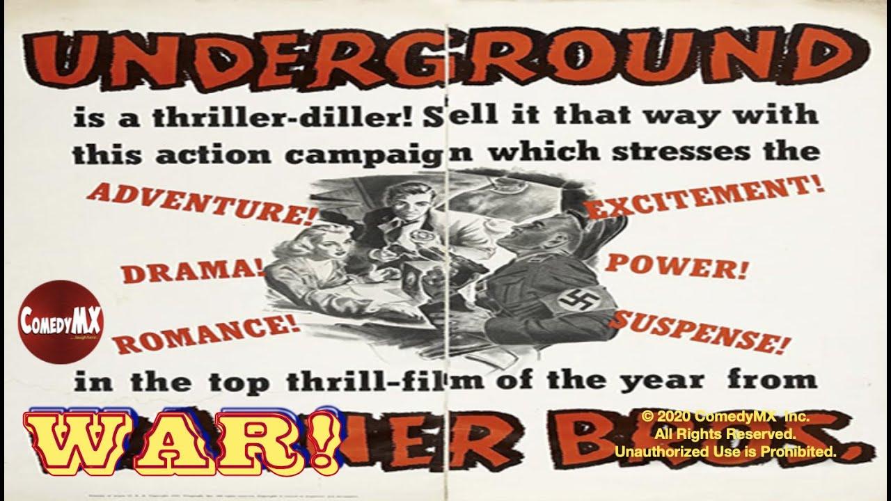 Download Underground (1941) | Full Movie | Jeffrey Lynn | Philip Dorn | Kaaren Verne | Vincent Sherman