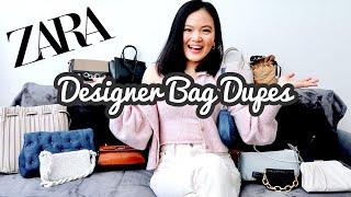 ZARA DESIGNER HANDBAG DUPES Zara haul 15 bags under 50 Fall Winter 2020 trendy designer bags