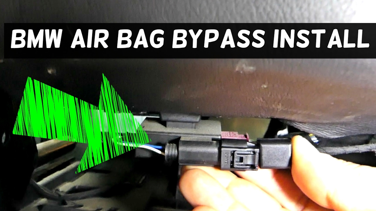 bmw passenger seat occupancy airbag mat bypass install does it work  [ 1280 x 720 Pixel ]