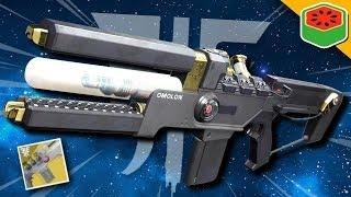 Wavesplitter - Exotic Trace Rifle | Destiny 2 Forsaken