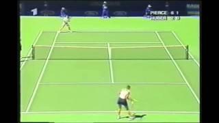 Anke Huber v Mary Pierce WTA Australian Open highlights