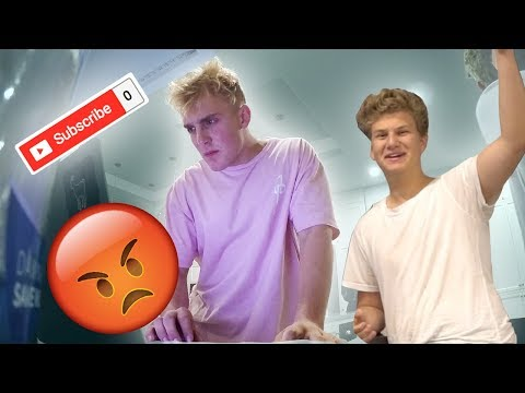 Thumbnail: 0 SUBSCRIBER PRANK ON JAKE PAUL! **GONE WRONG**