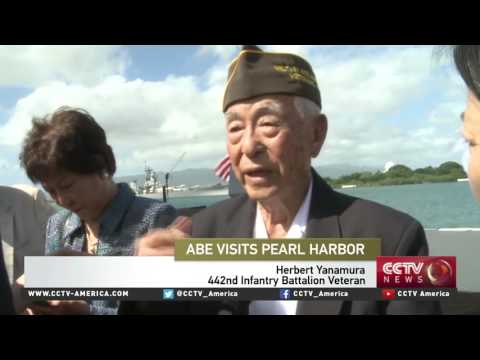 Japanese prime minister visits the USS Arizona Memorial