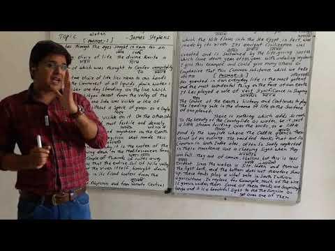 By - Shankar Joshi, Class -12th , Subject - English, Topic - Water