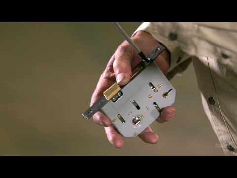 How to Install a Mortice Lock - Tutorial Video by Tradco