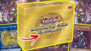 NEW!  Maximum Gold El Dorado Revealed! NEW Yu-Gi-Oh! Reprints & Arts!