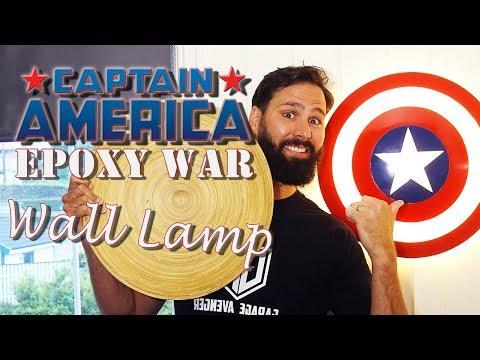 DIY - Captain America Shield Lamp (part 1)