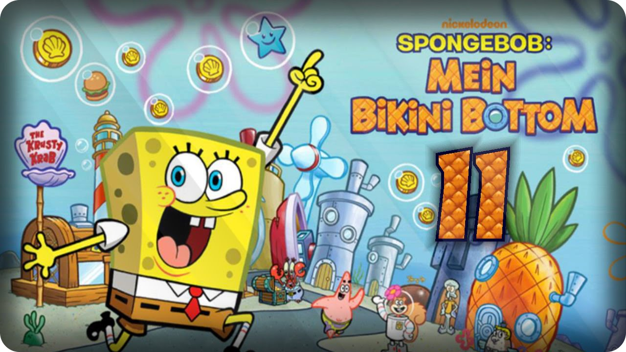 spongebob mein bikini bottom spiel