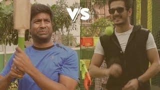 Akhil v/s Vennela Kishore - Cricket Match
